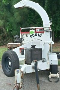 "Altec DC610 10"" x 6""  Towable Wood & Brush Chipper- Serviced and ready to work"