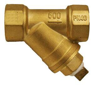 1/4 NPT Size Air Compressor Tank Condensate Water Drain Y Strainer Filter