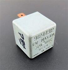784-Daewoo /1990-2005 Multi-Use 4-Pin Grey Relay 90244312 Deco 12V Max 30A Korea