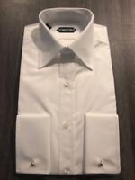 TOM FORD Men's White Shirt - Made In Italy