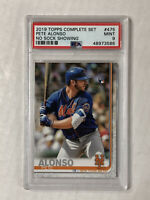 PETE ALONSO 2019 Topps Complete Set NO SOCK SP RC! PSA MINT 9! #475! HUGE SALE!