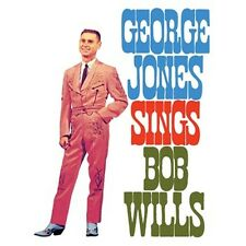 CD GEORGE JONES SINGS BOB WILLS BUBBLES IN MY BEER FADED LOVE ROLY POLY COUNTRY