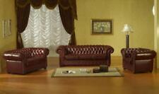 Sofagarnitur Chesterfield Ledersofa 3 2 1 Sofa Kunstleder Couch Sitz Garnitur #1