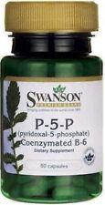 P-5-P (Pyridoxal-5-Phosphate) Coenzymated VitaminB-6 20 mg x 60 - 24HR DISPATCH