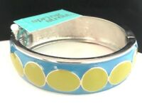 Spring Street Bangle Bracelet Hinged Silver & Enamel Nordstrom SSB OB2, 7