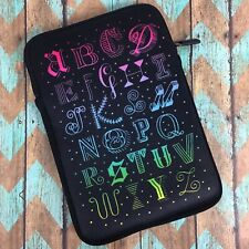 "Belkin Tanamachi Case for iPad Mini 4/3/2/1 8"" Tablet ABC Zip Neoprene A26-9"