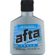 New Afta After Shave Lotion and Skin Conditioner Fresh Scent 3 Fl Oz