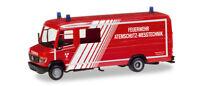 Herpa 093545 - 1/87 Mb Vario Langkasten Gw-A/S - Feuerwehr Landshut - Neu
