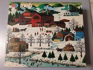 Jigsaw Puzzle MB Charles Wysocki SMOKE CREEK LANDING 4679-1 1993 NEW