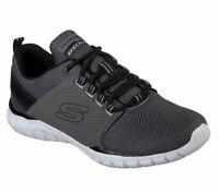 Skechers Charcoal shoes Men's Memory Foam Sport Comfort Casual Train Mesh 52821