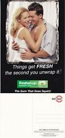 FRESHEN UP SPEARMINT CHEWING GUM UNUSED ADVERTISING COLOUR POSTCARD (a)