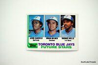 1982 Topps Baseball #203 Jessie Barfield RC Milner Wells Toronto Blue Jays NM/MT