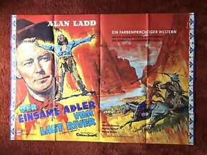 Der Einsame Adler vom Last River Kinoplakat Poster A1 quer, Charles Bronson
