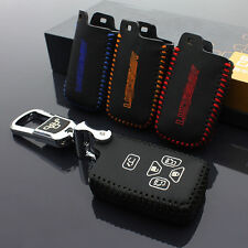 1pc  leather Smart Remote Key Case Cover Holder For TOYOTA Previa #KC92