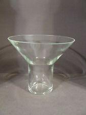 VINTAGE ANTIQUE GLASS FUNNEL STYLE VASE