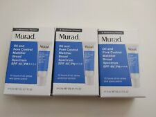 3X ~ Murad Oil And Pore Control Mattifier Spf 45 ~ 5ml/0.17fl.oz Each ~ New !!