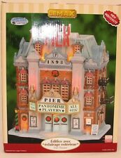 Lemax Village Lighted Pier Theater Plymouth Corners NEW NIB