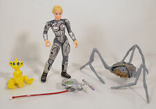 """1997 Dr Judy Robinson & Blawp 4.25"""" Heather Graham Action Figure Lost In Space"""