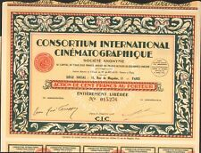 DECO => CIC, Consortium International Cinématographique (L)