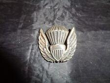 Vintage Balloon Shield Wings Military Pin