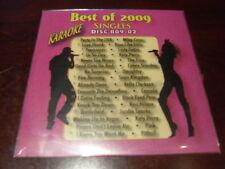 BEST OF 2009 VOL 2 SINGLES KARAOKE DISC B09-02 CD+G POP THE FRAY MILEY CYRUS