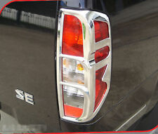 Nissan Frontier Navara D40 05-15 Surround Cover Trim Chrome Tail Light Lamp Rear