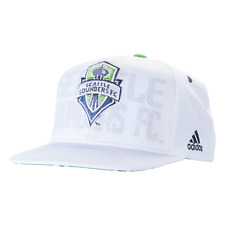 Seattle Sounders Adidas MLS Authentic Team Snap Back Hat