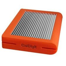 CalDigit Tuff Portable HDD 2TB Bus Power USB 3.1 Type-C Orange Fast Ship Japan