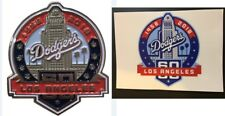 2018 LOS ANGELES DODGERS PIN 60TH ANNIVERSARY W/STICKER WORLD SERIES CHAMPIONS !
