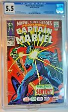 Marvel Super-Heroes #13 CGC 5.5 First Carol Danvers, 2nd Captain Marvel March 68