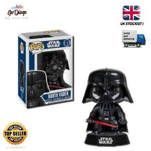 Darth Vader Star Wars 01 Funko Pop Vinyl Figure  BRAND NEW SAME DAY DISPATCH #01