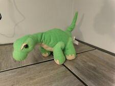 "Htf Retired 2016 Animal Adventure Green Plush Dinosaur 14"" Brontosaurus (*5)"