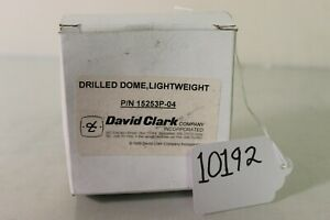 (10192) David Clark Lightweight Drilled Dome P/N 15253P-04