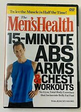 Mens Health 15 Minute Abs Arms & Chest Workouts Dvd