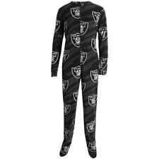 Oakland Raiders NFL Grandstand Union Suit Pajamas Concepts Sport SZ L NEW