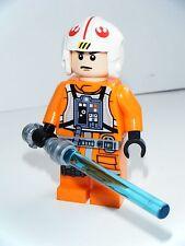 LEGO STAR WARS SNOWSPEEDER PILOT LUKE SKYWALKER MINIFIGURE VGC