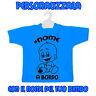 Personalizza la tua Mini T-shirt Maglietta con il Nome del Tuo Bimbo Auto