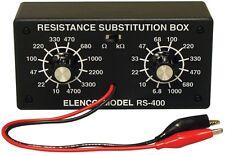 ELENCO K-37 Resistor Substitution Box Kit NEW!!!