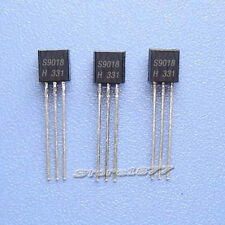 New 100 Pcs S9018H S9018 9018 NPN Transistor TO-92