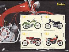 PORTUGAL S / S MOTOS (2007)   MNH (**)