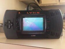 ■ Atari Lynx II Gray Handheld US SELL• Region Free Portable 2 GAMES AC ADAPTER