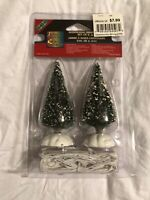 Lemax Village Collection, Shimmering Bristling Trees - New