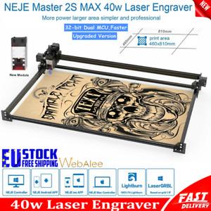 Laser Cutting Engraving Machine NEJE Master 2s Max 40w Diy Art Engraver Cutter
