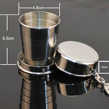 Stainless Steel Collapsible water bottle Portable Folding Telescopic Travel Cup