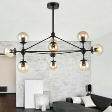 Large Chandelier Lighting Glass Pendant Light Modern Ceiling Lights Bar LED Lamp