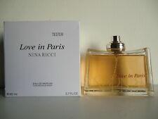Nina Ricci Love In Paris EDP Nat Spray 80ml - 2.7 Oz Full Boxed Testeur