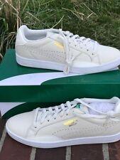 PUMA Match Lo leather white /off white new in box size 37/6.5