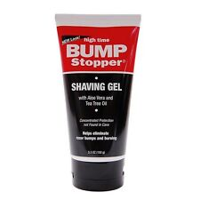 High Time Bump Stopper Shave Gel W/Aloe - Tea Tree Oil 5.3 oz (Pack of 2)