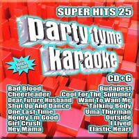 Various Artists - Party Tyme Karaoke: Super Hits 25 [New CD]