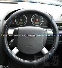 MITSUBISHI FAUX LEATHER BLUE STEERING WHEEL COVER